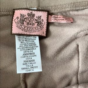 Juicy Couture Pants - Juicy Couture tan women's small pants
